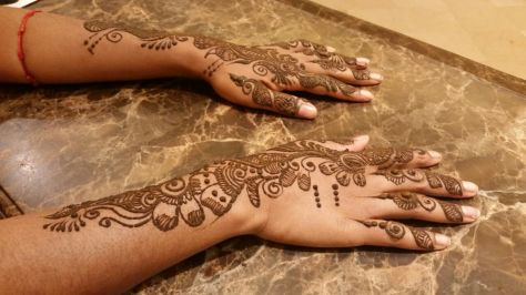 Loved it! So intricate and both hands only took 20 minutes!