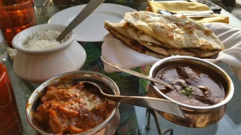 I thought I liked Indian food, but the Indian food in India confirmed that I actually LOVE Indian. Definitely came back a few pounds heavier but was worth it.