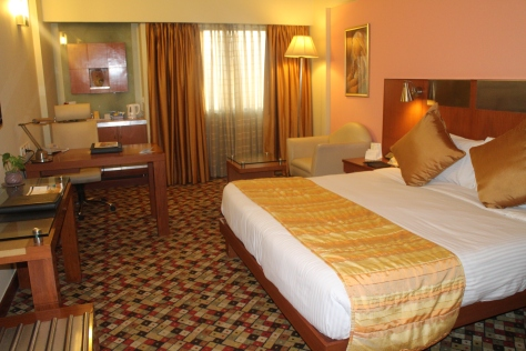 Hotel room in Delhi