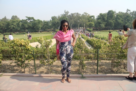 Raj Ghat - Burial place of Mahatma Gandhi