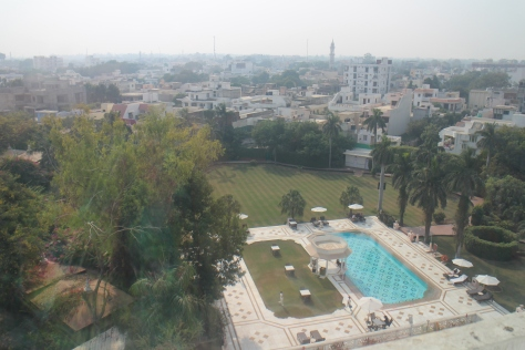 Proof = View of Agra from the our hotel. Some rooms were overlooking the Taj Mahal but not our unfortunately (still amazing).