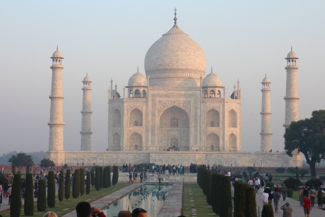 The Taj Mahal - took 22 years to complete and now I understand why. The detail ,not just on the main building but EVERYTHING, was just extraordinary.