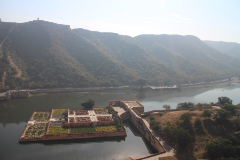 View from the top of Amber Fort - Rajastani beauty