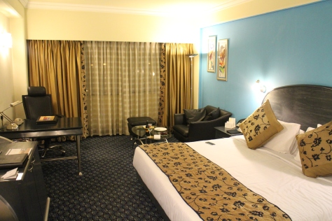 Hotel room for the last night :)