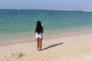 Me at Kite Beach, Dubai